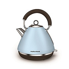 Morphy Richards - Azure 'Accents' retro traditional kettle 102100