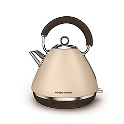 Morphy Richards - Sand 'Accents' retro traditional kettle 102101