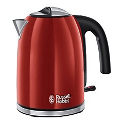 Russell Hobbs - Red 'Colour Plus' kettle 20415