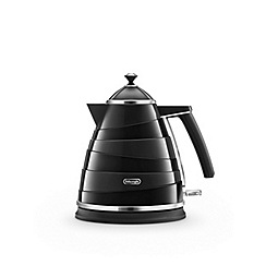 DeLonghi - Black 'Avvolta' kettle KBA3001.B