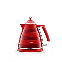DeLonghi - Red 'Avvolta' kettle KBA3001.R