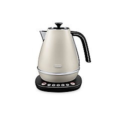 DeLonghi - White distinta 1.7l digital kettle KBI3011.W