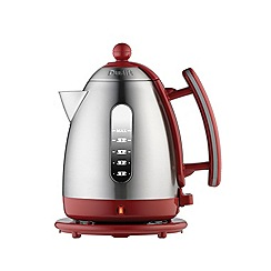 Dualit - Red with brushed steel 1.5L  jug kettle 72518