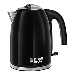 Russell Hobbs - Black 'Colour Plus' kettle 20413