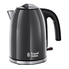 Russell Hobbs - Grey 'Colour Plus' kettle 20414
