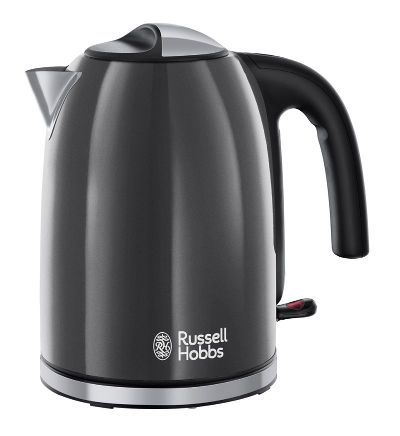 Russell Hobbs – Grey 'Colour Plus' Kettle 20414