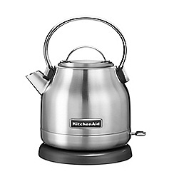 KitchenAid - 1.25L traditional dome stainless steel kettle 5KEK1222BSX