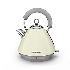 Morphy Richards - Ivory cream 'Accents' traditional kettle 102034