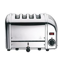 Dualit - Silver Vario 4 slice toaster
