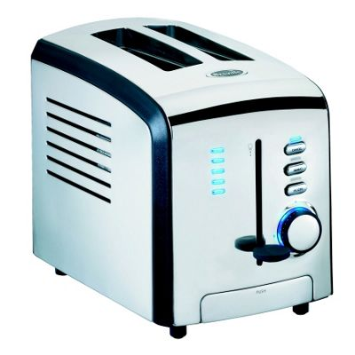 Stainless steel two slice toaster - VTT125