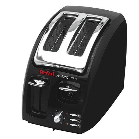 Tefal - Black Avanti 2 slice toaster TT875718
