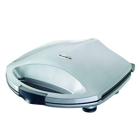 Breville - Silver two slice sandwich toaster