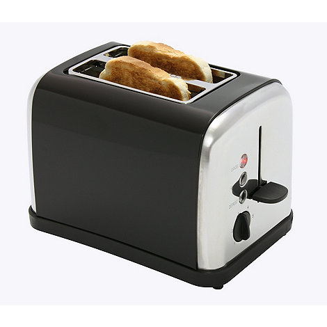 Debenhams - Black +DEC52605+ two slice toaster