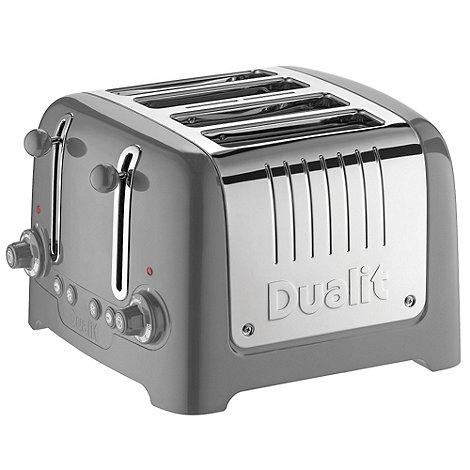 Dualit - Matte titanium +46217+ four slice toaster