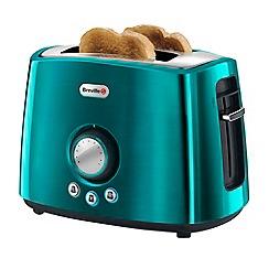 Breville - Teal 'Rio' 2 slice toaster VTT366