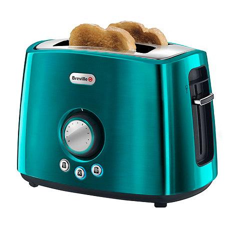Breville - Teal +Rio+ 2 slice toaster VTT366