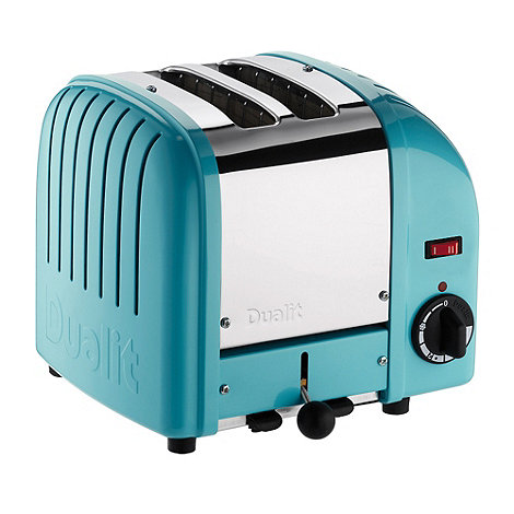 Dualit - +Azure blue+ 20404 +Vario+ two slice toaster