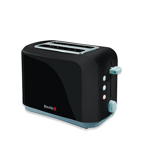 Breville - Black 2 slice toaster VTT232