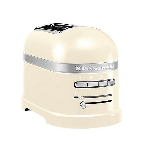 KitchenAid - Almond Cream +5KMT2204BAC+ two slice toaster