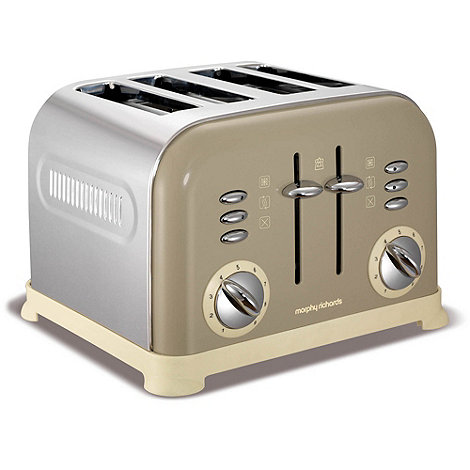 Morphy Richards - Barley +Accents+ 4 slice toaster 242000