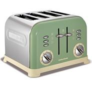 Morphy Richards 242001 sage four slice toaster
