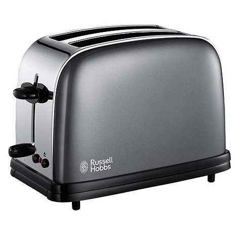 Russell Hobbs - Dark grey 18954 two slice toaster