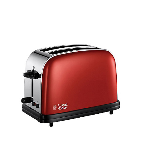 Russell Hobbs - Red 19851 two slice toaster