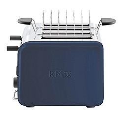 Kenwood - Blue 'kMix Stilton' four slice toaster  TTM087