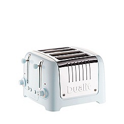 Dualit - Ice blue  Lite 4 slice toaster 46216- Exclusive to Debenhams