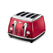 Red CTOM4003.R four-slice Micalite toaster
