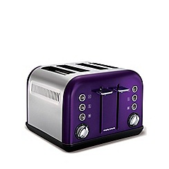 Morphy Richards - Accents 4 slice toaster - plum 242016