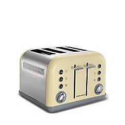 Morphy Richards - Accents 4 slice toaster - cream 242003