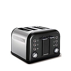 Morphy Richards - Accents 4 slice  toaster - black 242002
