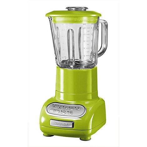 KitchenAid - Artisan KSB5553BGA Apple Green blender with glass pitcher