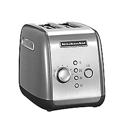 KitchenAid - Contour Silver 2-Slot Toaster