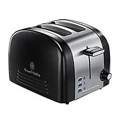 Russell Hobbs - Ebony 2 slice black toaster 18046