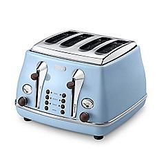 DeLonghi - Azure Icona Vintage toaster CTOV4003.AZ