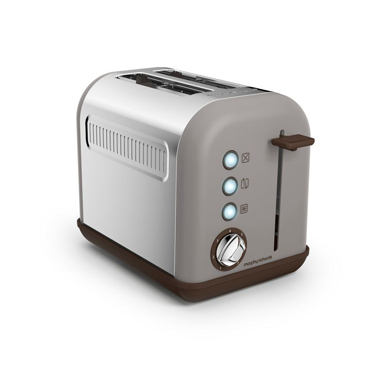 Morphy Richards – Taupe 'Accents' 2 Slice Toaster 222005