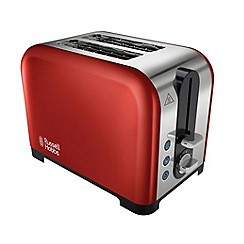 Russell Hobbs - Red Canterbury 2 slice toaster 22391