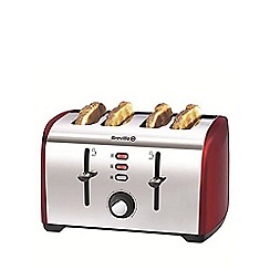 Breville - Red Collection 4 slice toaster VTT391