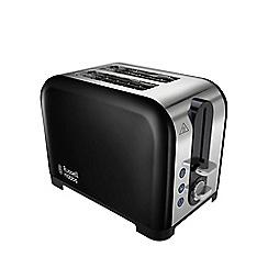 Russell Hobbs - Black 'Canterbury' 2 slice toaster 22392