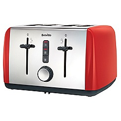 Breville - Colour collection red  4 slice toaster VTT759