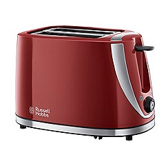 Russell Hobbs - Red with stainless steel accents mode 2 slice toaster 21411