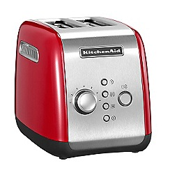 KitchenAid - Empire red 2 slice toaster 5KMT221BER