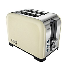 Russell Hobbs - Cream canterbury toaster 22393
