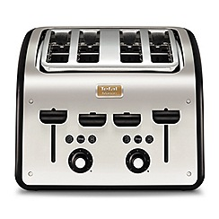 Tefal - Maison black 4 slice toaster TT7708UK