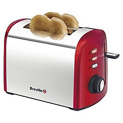 Breville - Red 2 slice toaster VTT381