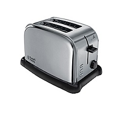 Russell Hobbs - Brushed stainless steel 2 slice toaster 22360