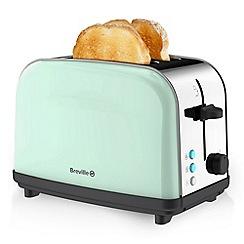 Breville - Pick & Mix Pistachio 2 Slice Toaster VTT718