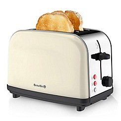 Breville - Pick & Mix Vanilla Cream 2 Slice Toaster VTT719